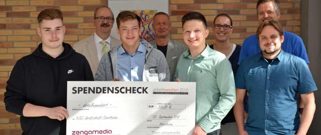 Schulen freuen sich über Spenden